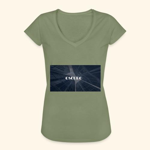 COPERTINA ALBUM OSCURO - Maglietta vintage donna