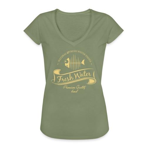 FreshWater 28cm Breite - Frauen Vintage T-Shirt