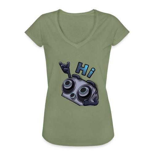 The DTS51 emote1 - Vrouwen Vintage T-shirt