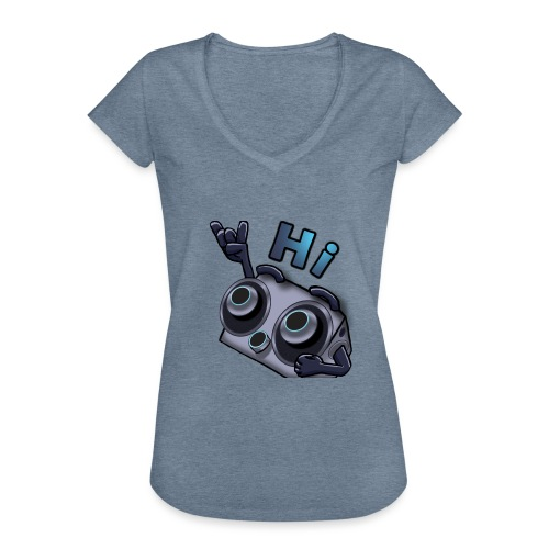 The DTS51 emote1 - Vrouwen Vintage T-shirt