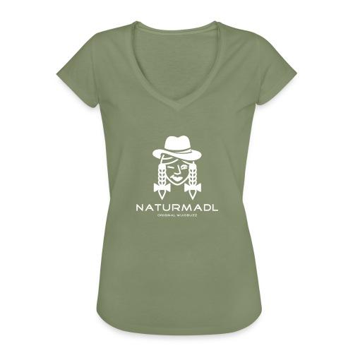 WUIDBUZZ   Naturmadl   Frauensache - Frauen Vintage T-Shirt