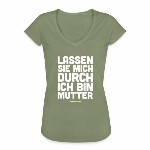 Mutter - Frauen Vintage T-Shirt