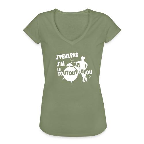 JPEUXPAS BLANC - T-shirt vintage Femme