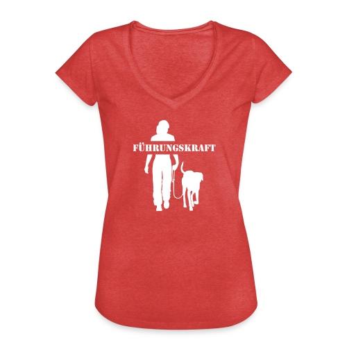 Vorschau: Führungskraft female - Frauen Vintage T-Shirt