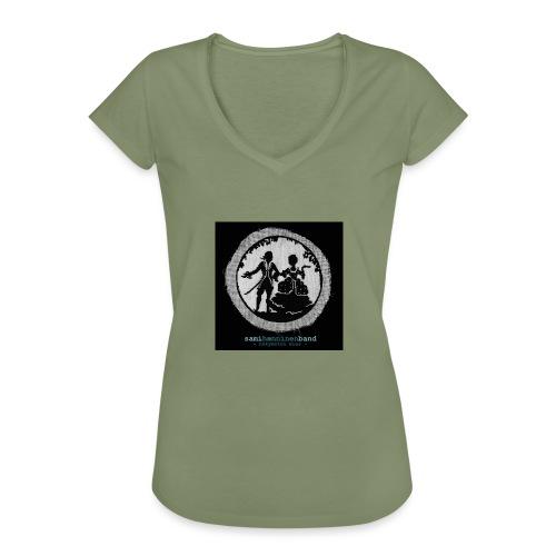 SHB - Näkymätön mies - Naisten vintage t-paita