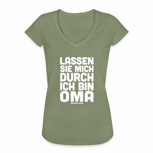 Oma - Frauen Vintage T-Shirt