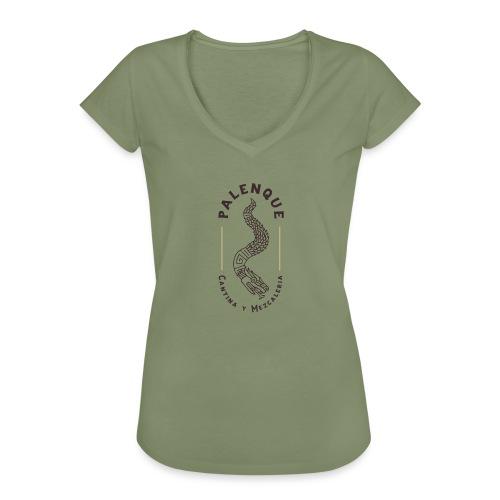 PALENQUE FULL LOGO - T-shirt vintage Femme