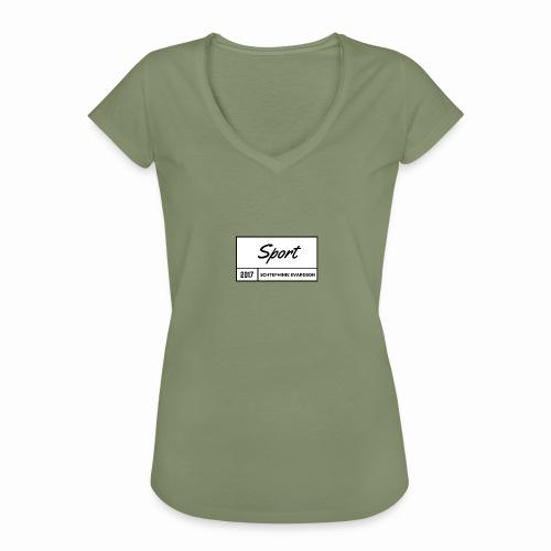 Schtephinie Evardson Sporting Wear - Women's Vintage T-Shirt