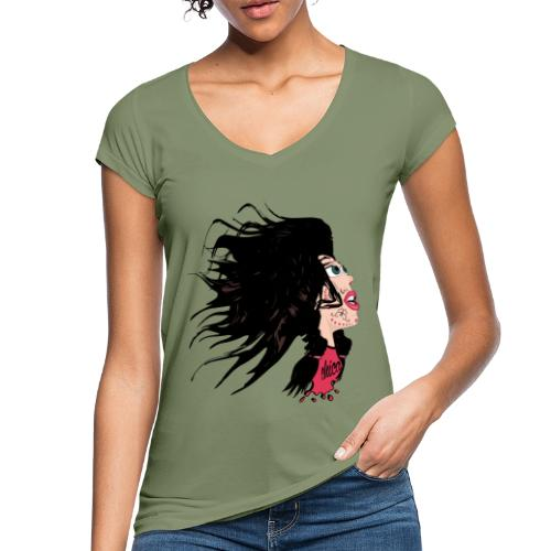 Catrina para chicas - Camiseta vintage mujer