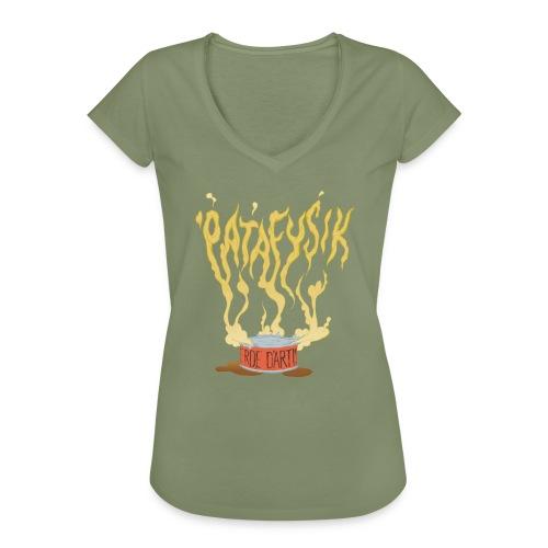 'patafysik - Dame vintage T-shirt