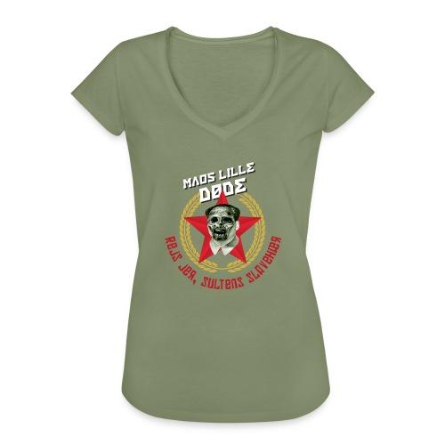 Maos lille døde - Dame vintage T-shirt