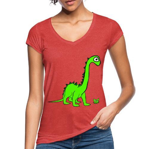 dinosauro - Maglietta vintage donna