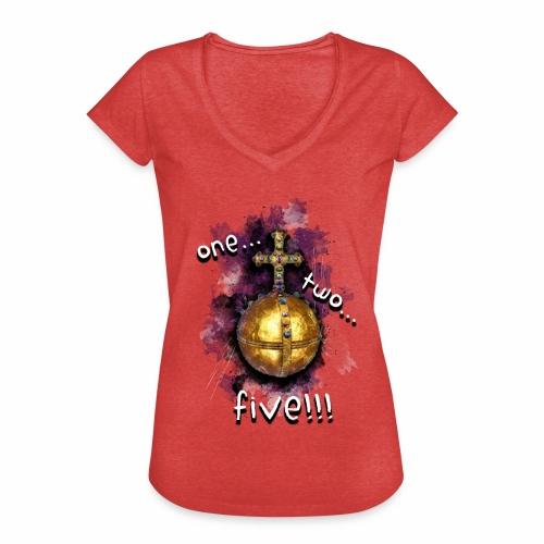 holy hand grenade of antioch - Camiseta vintage mujer