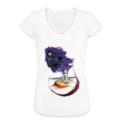 Extraterrestre en contemplation - T-shirt vintage Femme