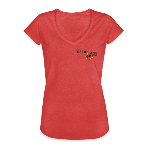 Logo vectoriel large - T-shirt vintage Femme