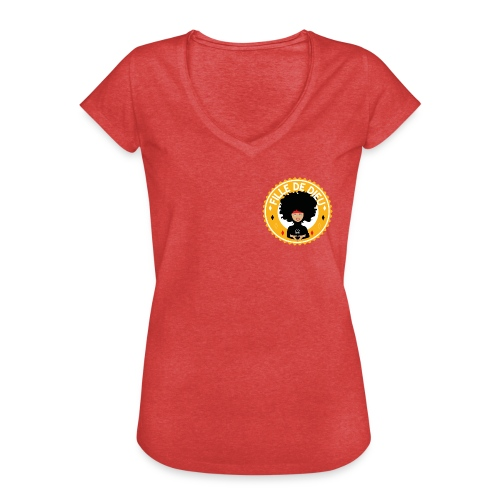 fillededieujaune - T-shirt vintage Femme