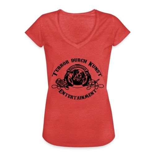 tdklogoschwarz 3 - Frauen Vintage T-Shirt