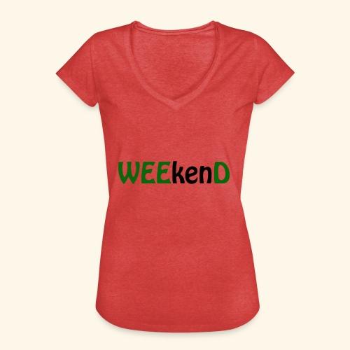 weed - Frauen Vintage T-Shirt