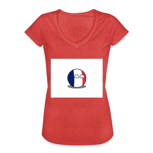 France Simple - T-shirt vintage Femme