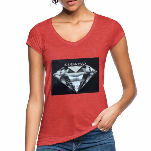 Diamond - Vintage-T-shirt dam