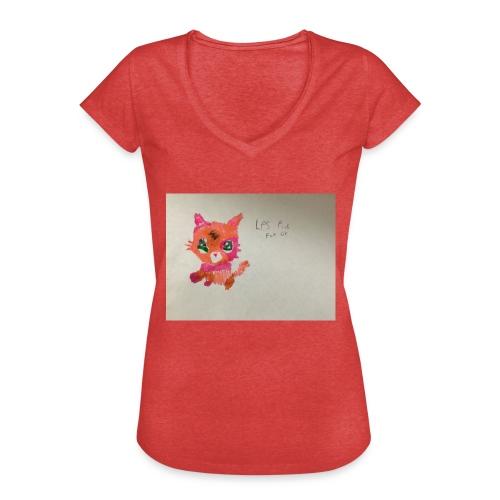 Little pet shop fox cat - Women's Vintage T-Shirt
