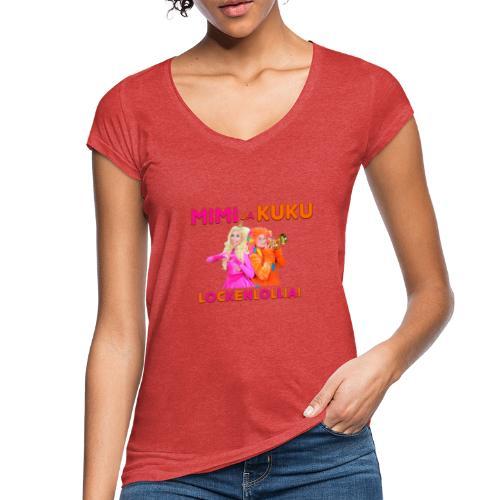 Mimi ja Kuku Lockenlollia - Naisten vintage t-paita