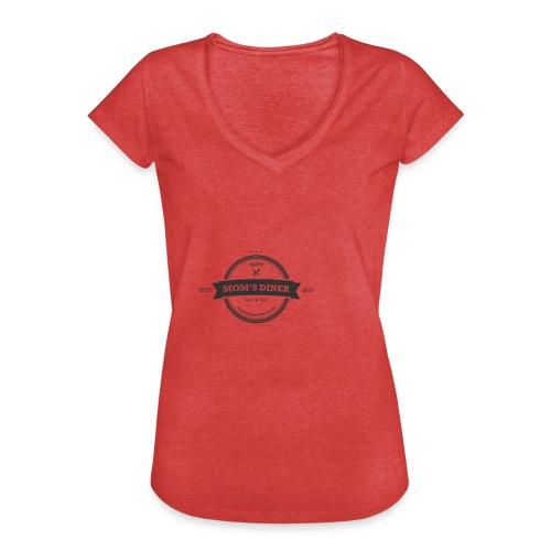 MomsDinner Logo Darkgray - Frauen Vintage T-Shirt