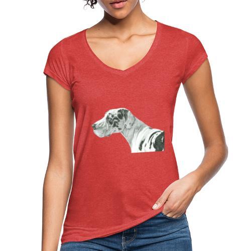 grand danios harlequin - Dame vintage T-shirt