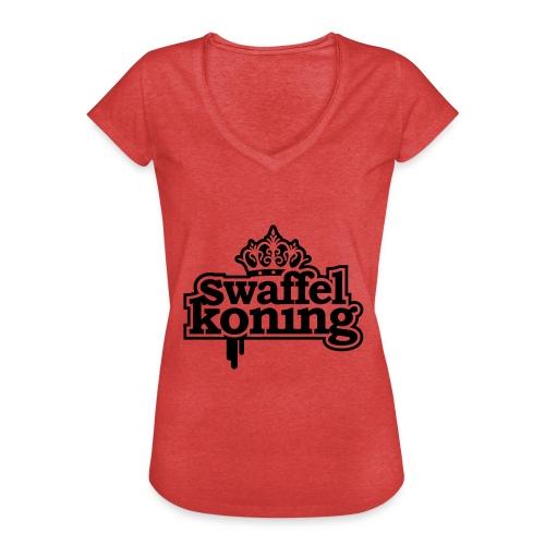 SwaffelKoning - Vrouwen Vintage T-shirt