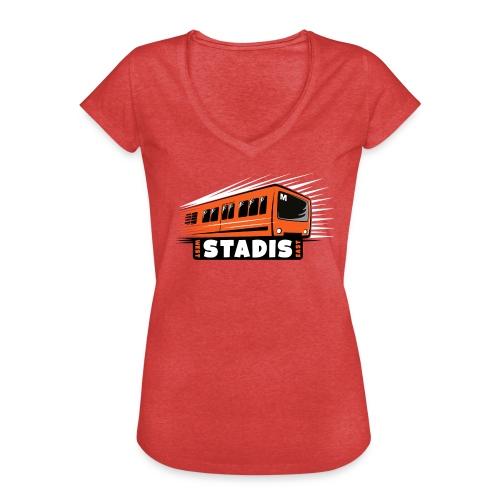 STADISsa METRO T-Shirts, Hoodies, Clothes, Gifts - Naisten vintage t-paita