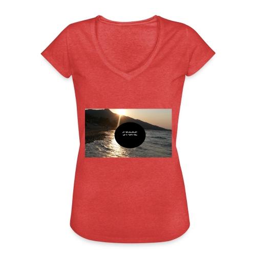 Mousepad - Frauen Vintage T-Shirt