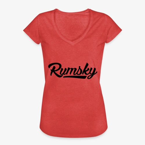 Rumsky-logo - Vrouwen Vintage T-shirt