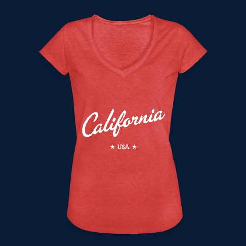 California - Frauen Vintage T-Shirt