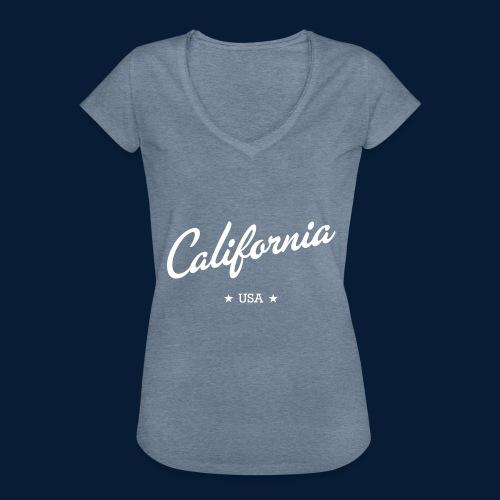 California - Frauen Vintage T-Shirt