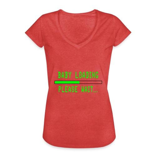 Baby Loading - Naisten vintage t-paita