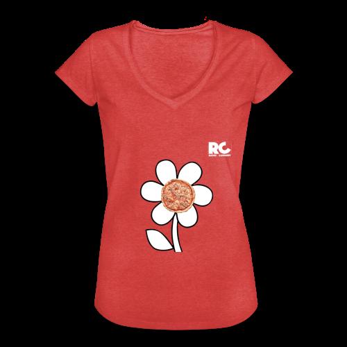 Pizzaflower Edition - Frauen Vintage T-Shirt