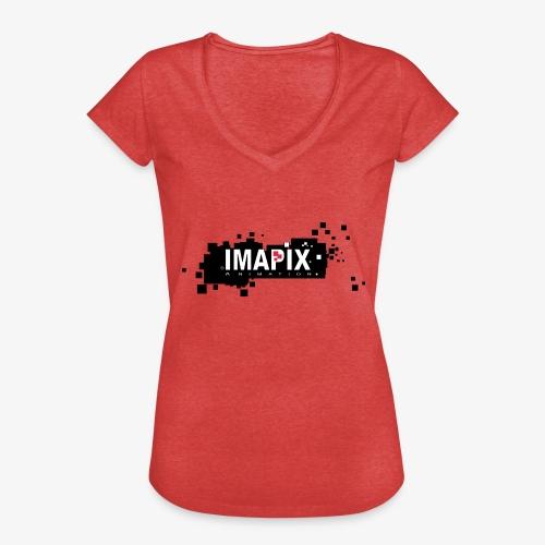 IMAPIX ANIMATION Rectro02 - T-shirt vintage Femme