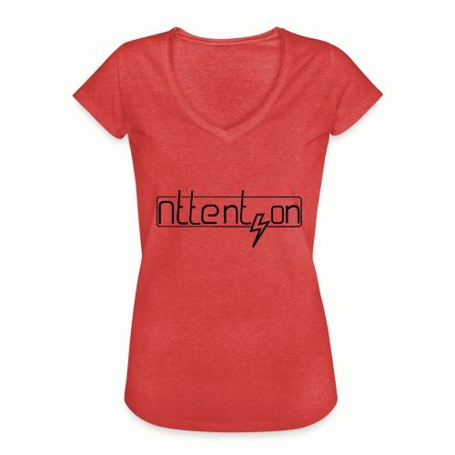 attention - Vrouwen Vintage T-shirt