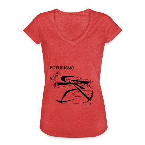 FUTURISMO (marciare non marcire) - Maglietta vintage donna