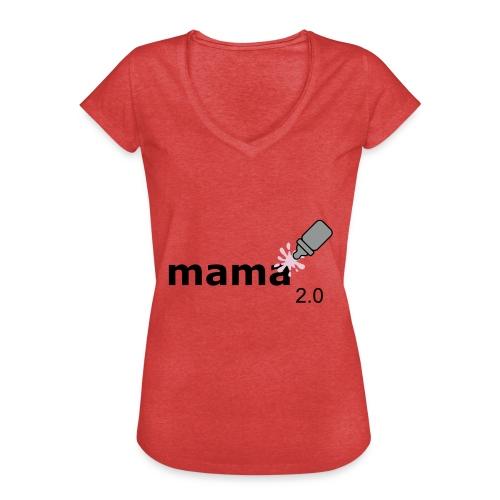 Mama_2-0 - Frauen Vintage T-Shirt