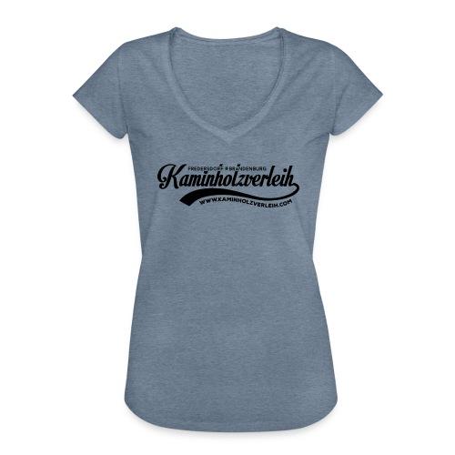 Kaminholzverleih - Frauen Vintage T-Shirt