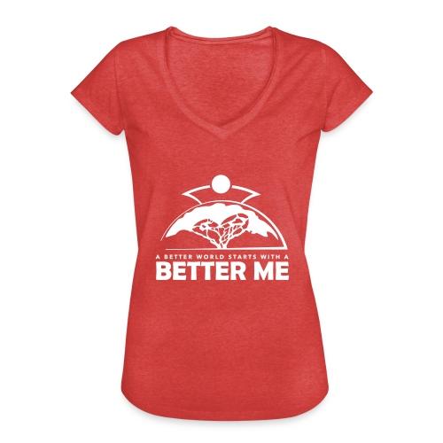 Better Me - White - Women's Vintage T-Shirt