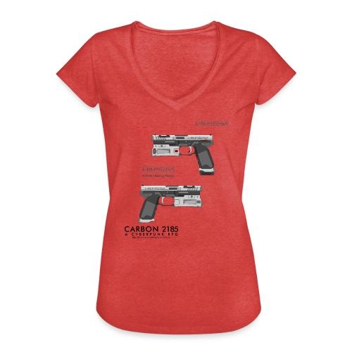 KHMA Heavy Pistol - Carbon 2185 - Women's Vintage T-Shirt