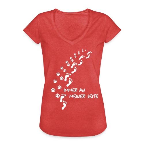 Vorschau: Immer an meiner Seite - Mein Hund und Ich - Frauen Vintage T-Shirt