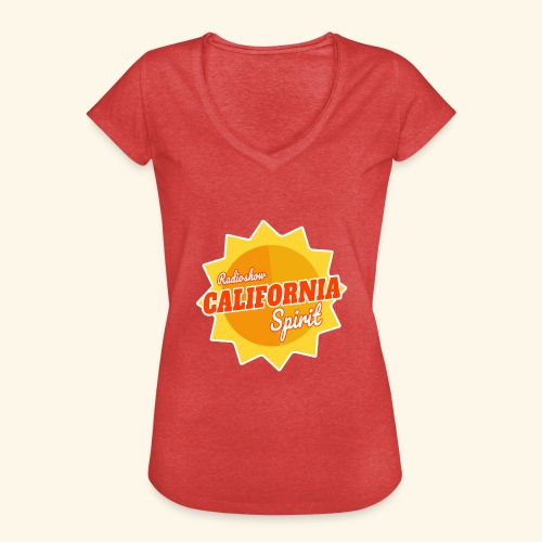 California Spirit Radioshow - T-shirt vintage Femme