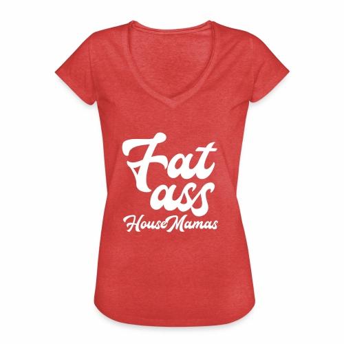 fatasswhite - Naisten vintage t-paita
