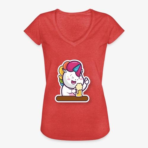 Funny Unicorn - Women's Vintage T-Shirt