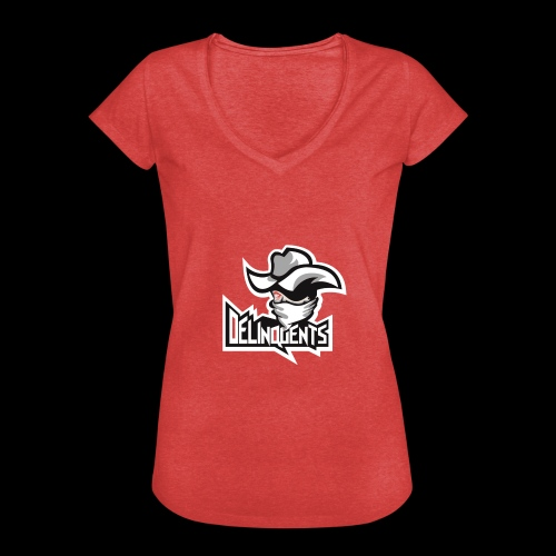 Delinquents TriColor - Dame vintage T-shirt