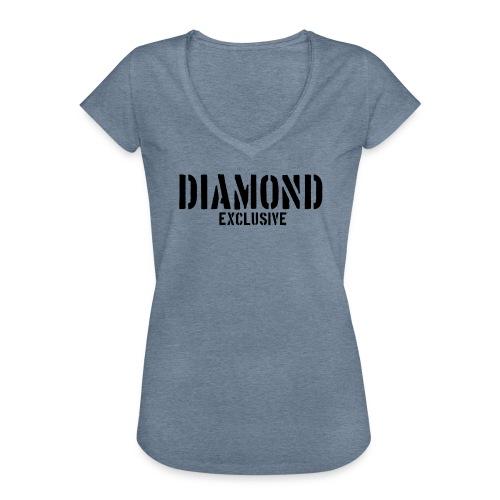 Diamond exclusive V1 apr.2019 - Vrouwen Vintage T-shirt
