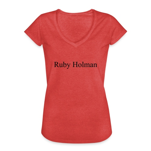 Ruby Holman - T-shirt vintage Femme